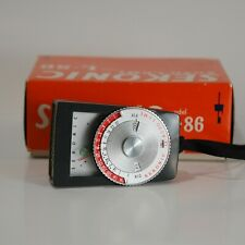 Sekonic Auto-Lumi L-86 Light Meter Working with Box and Case