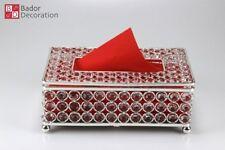 Design Serviettenhalter Servietten Serviettenspender Serviette Kristall Silber
