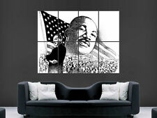 Martin luther king énorme large wall art poster photo
