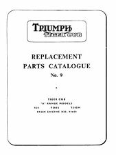1963-1964 Triumph Tiger cub parts list No.9