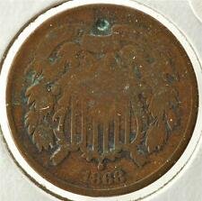 1868 - 2 Cents, Ships For Free, 2CA24