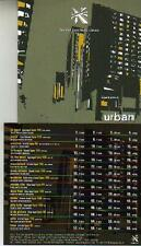 CD album URBAN - LIBRARY SAMPLES for MAKING MODE TV SHOWS JINGLES COMMERCIALS