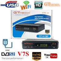 GTmedia V7S DVB-S2 Digital Satellite Receiver 1080P FHD TV Box USB WiFi Player