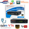 GTmedia V7S DVB-S2 Digital Satellite Receiver 1080P FHD TV Box USB WiFi Player