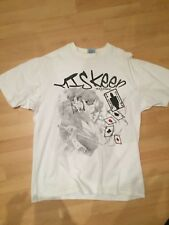 Miskeen Shirt XXL 2XL Weiß Herren Baggy YOLO SWAG Yankees