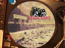 """DEEP PURPLE -  BLACK NIGHT 12"""" PICTURE DISC PROMO SINGLE LP RARE ROCK  24 CARAT"""