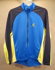 Cannondale Long Sleeve Jersey • Large • M875 • Blue / Yellow / Black • USA Made