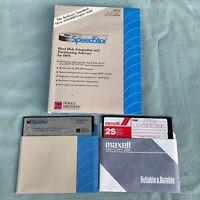 Speedstar Hard Disk Partitioning Software DOS Maxtor 5.25 Floppy Manual PC XT AT