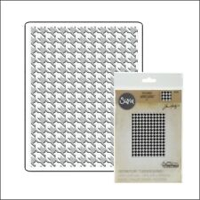 Tim Holtz Sizzix embossing folders Houndstooth embossing folder 661201