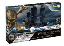 Pirati Dei Caraibi Disney La Perla Nera Black Pearl Easy Click Plastic Kit 1:150