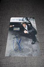 "DAVID HASSELHOFF signed Autogramm auf 20x30 cm ""KNIGHT RIDER"" Foto InPerson LOOK"