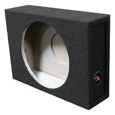 "Qpower BQSHALLOW12SINGLE Single 12"" Shallow Mount Subwoofer Box"