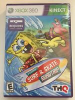 SpongeBob's Surf & Skate Roadtrip Microsoft Xbox 360 *New-Sealed-Free Ship!