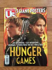 US WEEKLY Magazine HUNGER GAMES Special Issue 2012 w/3 Posters Jennifer Lawrence