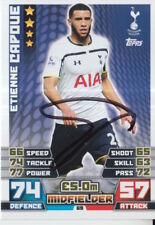 ETIENNE CAPOUE HAND SIGNED TOTTENHAM HOTSPUR MATCH ATTAX CARD 14/15.