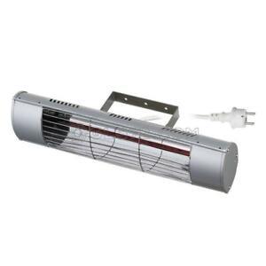 CHAUFFAGE ELECTRIQUE INFRAROUGE AVEC SUPPORT MONTAGE MURAL IP55 1800W FERVI R607