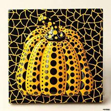 """Yayoi Kusama Magnet Yellow Dots Pumpkin 2.75"""" Acrylic Brand New NWT"""