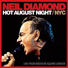 NEIL DIAMOND - HOT AUGUST NIGHT/NYC (2-CD) 2 CD NEU