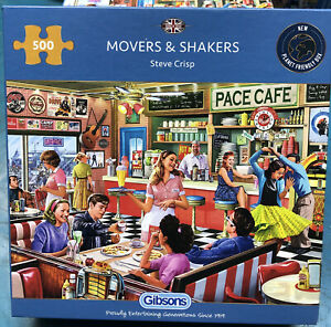 Gibsons 500 Piece Jigsaw Puzzles Brand New   Large Selection   18 Designs