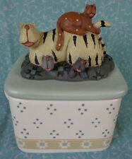 Williraye Studio Cat Trinket Box WW9003 Poured Candle No Candle ~ FREE SHIPPING