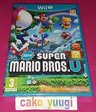 NEW SUPER MARIO BROS  WII U  NEUF SOUS BLISTER