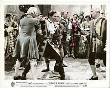 ERROL FLYNN IS THE MASTER OF BALLANTRAE ORIGINAL WB FILM STILL #5
