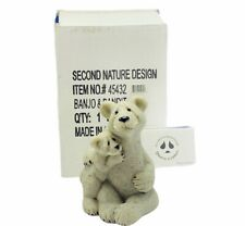 Quarry Critters stone figurine sculpture second nature Banjo Bandit Polar Bears