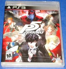 P5 Persona 5 PlayStation 3 *New! *Factory Sealed! *Free Shipping!