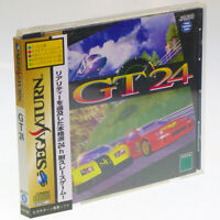GT24 + SPINE Card Sega Saturn Japan Import Jaleco Racing NTSC-J Complete !