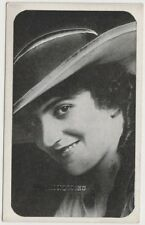 Helen Holmes Vintage 1910s Kromo Gravure Trading Card - Rounded Border Type