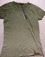 Tigha Herren T-Shirt Mika Military Green   Größe M