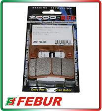 Pastiglie Freno DID Zcoo T004 EX Suzuki 600 GSX-R 04-10