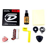 Dunlop Electric Guitar Accessory Pack Picks, Winder, Strap locks, More Gift Pack