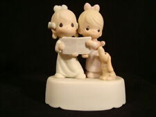 New ListingPrecious Moments Musical-Wishing You A Merry Christmas *With Box* 1'st Mark