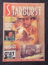 1989 Marvel Comics STARBURST Magazine #131 VF Indiana Jones - Star Trek