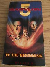 Babylon 5 - In The Beginning (VHS, 1998) Vol 5.1