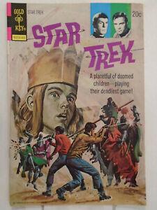 Gold Key STAR TREK #23 (1974) George Wilson Painted Cover