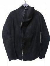 Boris Bidjan Saberi AW10/11 size L black sleeveless leather jacket pre-owned