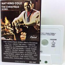 NAT KING COLE The Christmas Song (Cassette Capitol 4M-1967) EXCELLENT