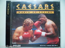 PHILIPS CDI CD-i GAME CAESARS WORLD OF BOXING