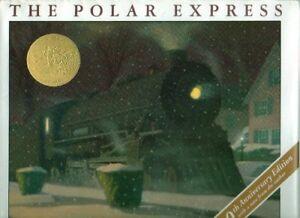 B004F838SY The Polar Express - The Caldecott Medal Award Winning Book - 10th An