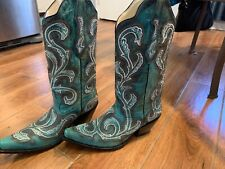 Corral Turquoise Boots, Size 9.5 Ladies G1249 NEW IN BOX