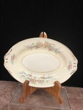 Vintage Homer Laughlin Georgian Eggshell Cashmere Small Oval Platter