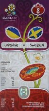 mint TICKET UEFA Euro 2012 Ukraine - Schweden # Match 8 in Kiew