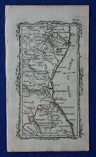 OLD ORDNANCE SURVEY MAP EDINBURGH NEWHAVEN GRANTON 1904 LEITH WARDIE BANGHOLM