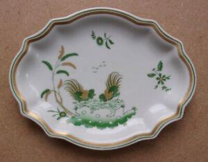 RICHARD GINORI Two Roosters Design Trinket Dish