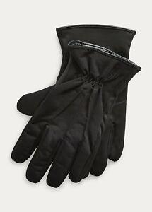 Polo Ralph Lauren Men's Soft Touch Gloves Black Size L