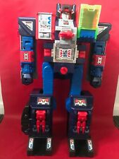 Transformers - Car Robots Brave Maximus - Fortress Max Redeco - Complete - Boxed