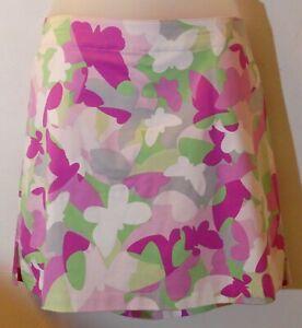 Women's Lady Hagen Hero Butterfly Skort Pink Lady Size 12 NWT