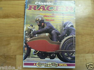 CLASSIC RACER 1984 WINTER ISSUE 8,VINCENT,SILVERSTONE,BIANCHI,GILER